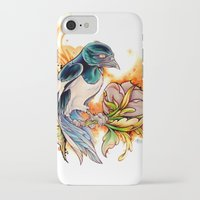 gemma correll iPhone & iPod Cases featuring Magpie by Gemma Pallat by ToraSumi