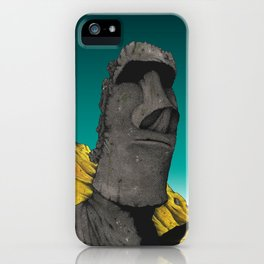 Easter Island 2 iPhone Case