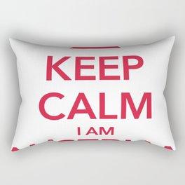 KEEP CALM I AM AUSTRIAN Rectangular Pillow