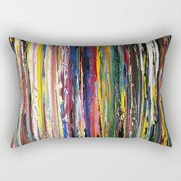 Running Color Rectangular Pillow