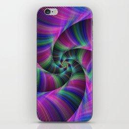 Spiral tentacles iPhone Skin