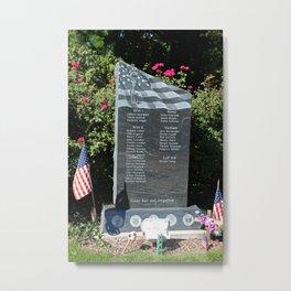 Hood Park Memorial -vertical Metal Print
