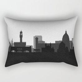 City Skylines: Florence Rectangular Pillow