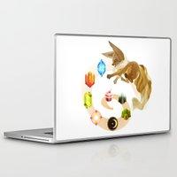 eevee Laptop & iPad Skins featuring Eevee by Katie O'Meara