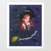 A Wee Bit Wicked Art Print