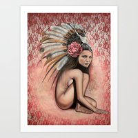 the power within Art Print