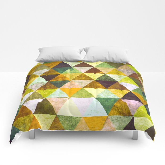 Abstract #388 Cailin Rua Comforters