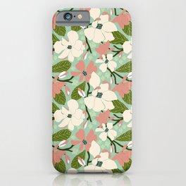 Magnolia Joy iPhone Case