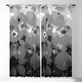 interplay. b&w. 2019 Blackout Curtain