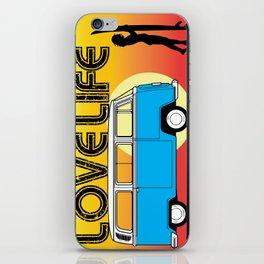 Love Life - Surf Van iPhone Skin