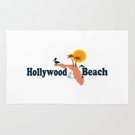 Hollywood Beach - Florida. Rug