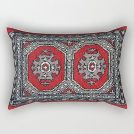Traditional rug - Ruby Red Rectangular Pillow