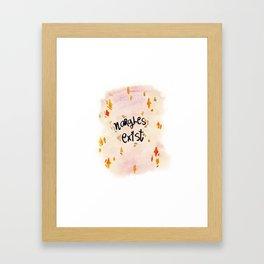 Nargles Exist Framed Art Print