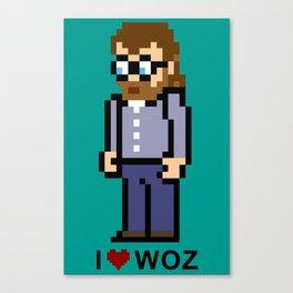 Code Monkeys: The Great WOZ Canvas Print