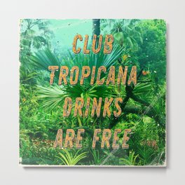 Club Tropicana #1 – A Hell Songbook Edition Metal Print