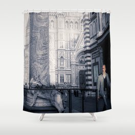 Bourgeoisie and Liberty Shower Curtain