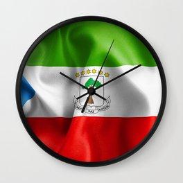 Equatorial Guinea Flag Wall Clock