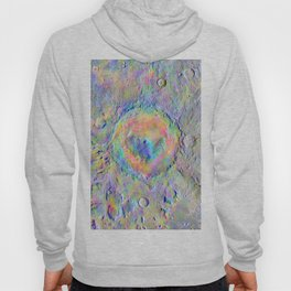 Iridescent Rainbow Moon Surface Hoody