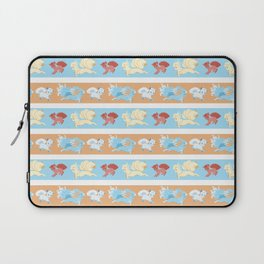 Vulpix and Ninetales Stripe Laptop Sleeve