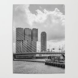 Rotterdarm cityscape Poster