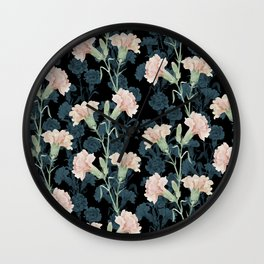 carnation Wall Clock