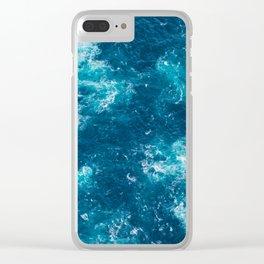 Look Down, Cape Pillar Clear iPhone Case