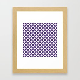 """""""sippo"""" Japanese traditional pattern Framed Art Print"""