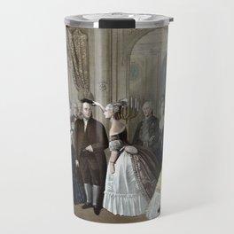 Franklin's Reception At The Court Of France Travel Mug