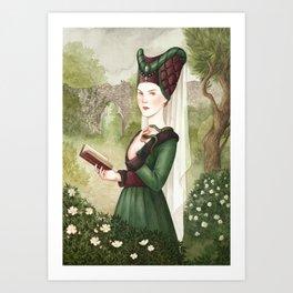 Meraude ~ A Compendium Of Witches Art Print