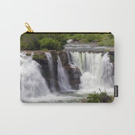 Lundbreck Falls Crowsnest River Alberta Carry-All Pouch