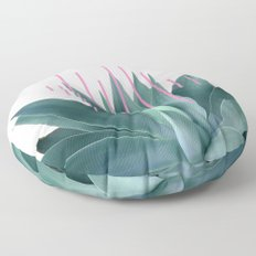 Agave geometrics II - pink Floor Pillow