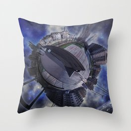 Minimundo Lleida Throw Pillow