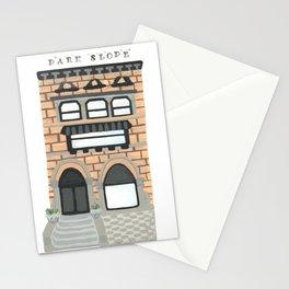 Park Slope Brownstone Stationery Cards