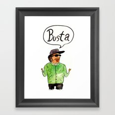 Ryder Framed Art Print