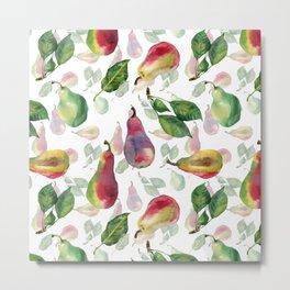 Ripe pears Metal Print