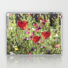 A floral spot on Earth Laptop & iPad Skin