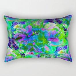 Azealia Abstract Rectangular Pillow