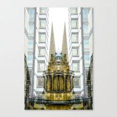 upward looker Canvas Print