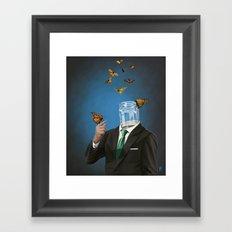 Jar Framed Art Print