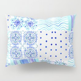 Amalfi Coast Tiles Pillow Sham