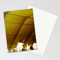 Golden Glimmer Stationery Cards