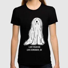 Komondor-tshirt,-just-freaking-love-my-Komondor T-shirt