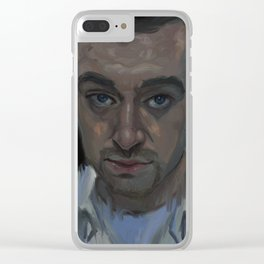 Sam Smith Clear iPhone Case