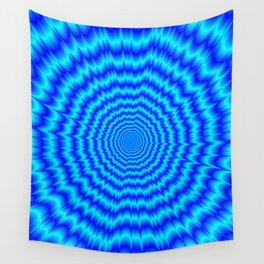 Big Bang Blues Wall Tapestry