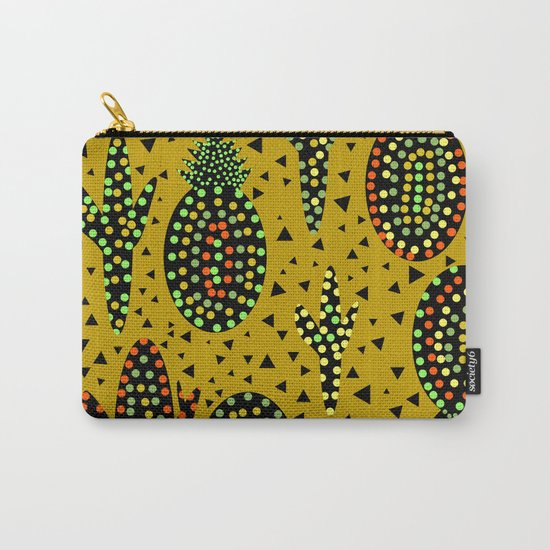 Cacti and pineapples Carry-All Pouch