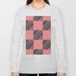 Checker Disco Long Sleeve T-shirt