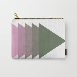 006 - Pink tree Carry-All Pouch