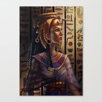 egyptian Canvas Prints featuring Egyptian by Ayu Marques