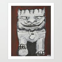 Temple Dog Art Print