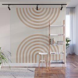 Rainbow lines Wall Mural